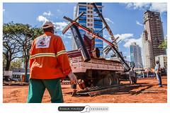 Revitalizao da Praa do Sol (angela.macario) Tags: ngela macrio goinia gois brasil brazil prefeitura comurg trabalhadores trabalhador obra praca sol