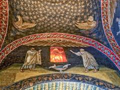 Mausoleum Panel 3 (stephencurtin) Tags: mausoleum galla placidia mosaics panels ceiling
