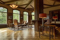 Inside the Deer Lodge (Ken Krach Photography) Tags: lakelouise deerlodge albertacanada banffnationalpark