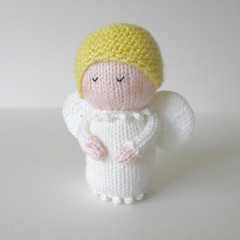 Knitting Pattern Angel Ornament : The Worlds most recently posted photos by Knitting ...