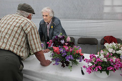 New Forest Show, July 2016 (Paul Russell99) Tags: flowers newforestshow floral display tent knife