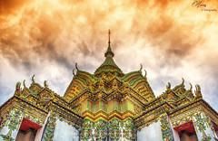 Phra Mondob (harryz Photography) Tags: thailand bangkok wat phramondob watphrakaew watpho buddhist belief travel tourism religion sunset ceremic colorful temple architecture historicalbuilding history