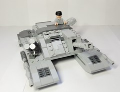 Star Wars Imperial Heavy Armored Siege Tank (HA-ST) (top hatch opened) (RedLionpaw) Tags: lego starwars tank galacticempire vehicle moc