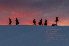 John 10:27-28 (TAC.Photography) Tags: scripture bibleverse john1027 silhoutte snowcovered