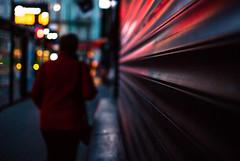 gain (ewitsoe) Tags: quote bokeh street city cityscape mood tram woman urban nikon d80 autumn fall morning dawn early streetlights ewitsoe nikond80 35mm poland poznan polska europe pedestrian waiting walking walk