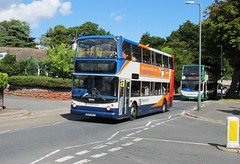 18303, Babbacombe Road, Torquay, 29/08/16 (aecregent) Tags: babbacomberoad torquay 290816 stagecoachsouthwest trident alx400 18303 wa05mgx 32