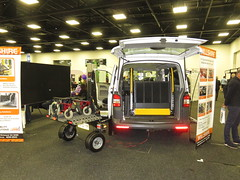 2014 Bruno Chariot mobility scooter trailer (RS 1990) Tags: adelaide southaustralia friday 23rd september 2016 wayville showgrounds disability ageingandlifestyleexpo bruno chariot trailer