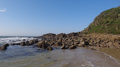 Second Beach (Rckr88) Tags: port st johns secondbeach second beach portstjohns easterncape eastern cape south southafrica africa sea water ocean coastline coast coastal rocks rockycoastline rock beachsand sand cliff greenery green travel outdoors nature