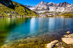 IMG_20160825_C700D_011HDR.jpg (Samoht2014) Tags: bergsee kapelle landschaft schwarzsee spiegelung wasser zermatt wallis schweiz