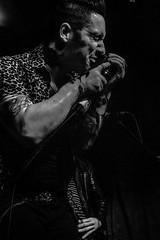 Dedwardians at The Finsbury Pub, London, Sept 18 2016 (draGnet ) Tags: ldn band bass blackwhite concert concertphotography dark dedwardians doublebass drums frontman guitars london musicians people psychobilly punk roadkillrecords rocknroll rockabilly september2016 thefinsbury