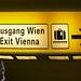 Me Exit Vienna Ich Ausgang Wien Airport Flughafen Schwechat - kein selfie, nicht: