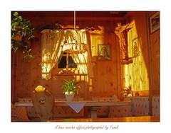 il buon vecchio ufficio (friedrichfrank1966) Tags: rossalm italy rahmen sdtirol ufficio light licht sonnenuntergang sunrise tramonto altoadige brixen indoor