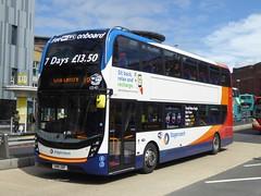 Stagecoach Merseyside, 10540 [SN16ONF] - Liverpool (04/08/16) a (David's NWTransport) Tags: stagecoachmerseysidesouthlancashire stagecoachmerseyside stagecoach sn16onf adlenviro400mmc adl enviro400mmc enviro400