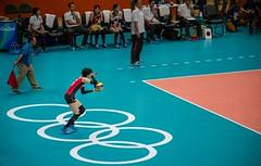 Volley (Richard Parmiter) Tags: rio2016 olympicgames volleyball maracanazinho