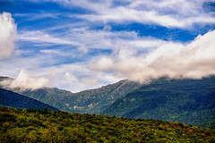White Mountain Presidential Range (FotoFloridian) Tags: outdoors white mountains sky clouds sony a6000 nik landscape peaks blue scenic nature autumn nh newhampshire