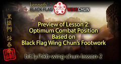 Wing Chun Stance and Footwork using Optimum Body Positioning from Black Flag Wing Chun (Hek Ki Boen Eng Chun) Tags: ip man wing chun yip donnie yen black flag hek ki boen