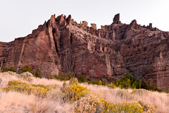 Cliffs at Sunrise (Terri Toll) Tags: d610 landscape mountains nikon nikond610 nature rockymountains wyoming