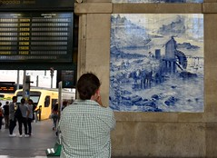 Azulejo (csaba.lehel) Tags: azulejo station porto railway