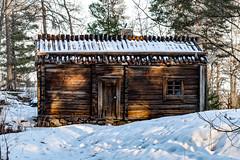 The House (Jori Samonen) Tags: wooden house building winter snow tree door window roof seurasaari island helsinki finland nikon d3200 180550 mm f3556 nikond3200 180550mmf3556