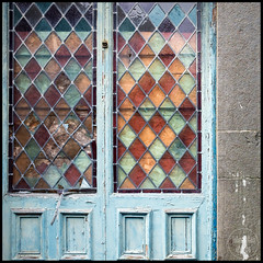 out of favour | porthmadog (John FotoHouse) Tags: decay 2016 squareformat square doorway dolan flickr fujifilmx100s fuji johnfotohouse johndolan leedsflickrgroup color colour copyrightjdolan wales porthmadog church