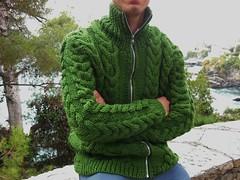 cardigan uomo verde (stranelane1) Tags: cardigan uomo man tricot maglia lana wool knit knitting knitted