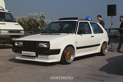 Volkswagen Golf (NGcs / Gbor) Tags: volkswagen vw german car golf mk2 a2 kamei bbs hella