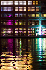 aligned colours (Tafelzwerk) Tags: berlin colors night reflections river lights nikon colours nacht structure fluss spree meaning lichter farben reflexionen aligned industriegebiet dahme bedeutung nikkon85mmf18 d7000 ausgerichtet tafelzwerk tafelzwerkde