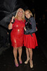 Vanessa Feltz and Allegra Feltz, at PR guru Nick Ede's birthday party at Dstrkt Club. London, England