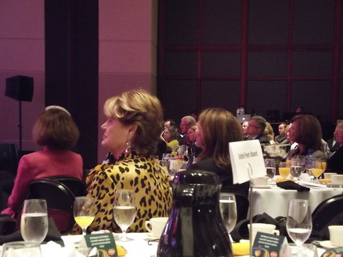 Listening to Laura Bush