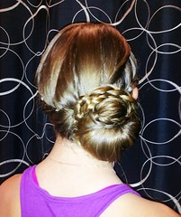 braided chignon (klever-ton) Tags: prom beautifulhair updo promhair promupdo flickrandroidapp:filter=none braidedchignon