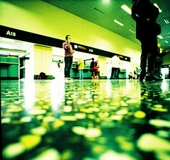 MXP (VERY GIORGIOUS) Tags: milan film airport xpro rat view cross floor slide processed mxp malpensa lcw lcwide
