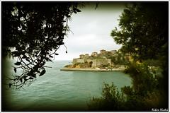Ulcinj (Nikos Niotis) Tags: old trees sea castle town europe unesco frame monuments adriatic montenegro ulinje