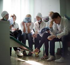 X-ray watching (Rednippled) Tags: portrait people education xray medicine nex 2514