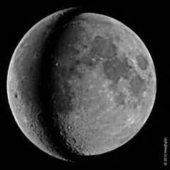 Moon perigee and apogee (horstm42) Tags: moon apogee perigee