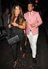 James Argent and Lauren Goodger Celebrities outside Aura Nightclub London, England