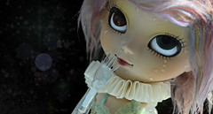 Rhapsody ~ (Nickocha) Tags: white france rain fur rainbow doll clear wig pullip obitsu eyechips pupaparadise amarri nickocha