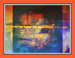 Broken shoes entrance (Murfomurf) Tags: shoes brokenglass entrance picasa manipulation layers dots pixlr autodreamulator dreamulation solarlunastar