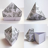 Triangle Box With Pyramid Lid (t Fuse)