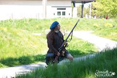 IMG_0177 (Naturally in Niagara) Tags: old war fort battle soldiers british erie reenactment bicentennial culloden 1812