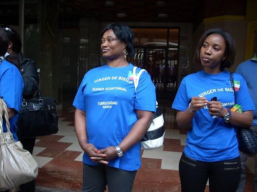 Familias Guinea Ecuatorial en Torreciudad 2012 - 3
