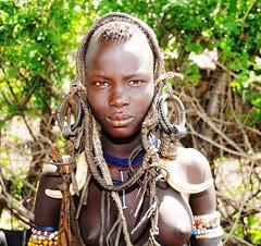 DSC_7859 (Peter Schnurman) Tags: africa girl east valley ethiopia mursi omo