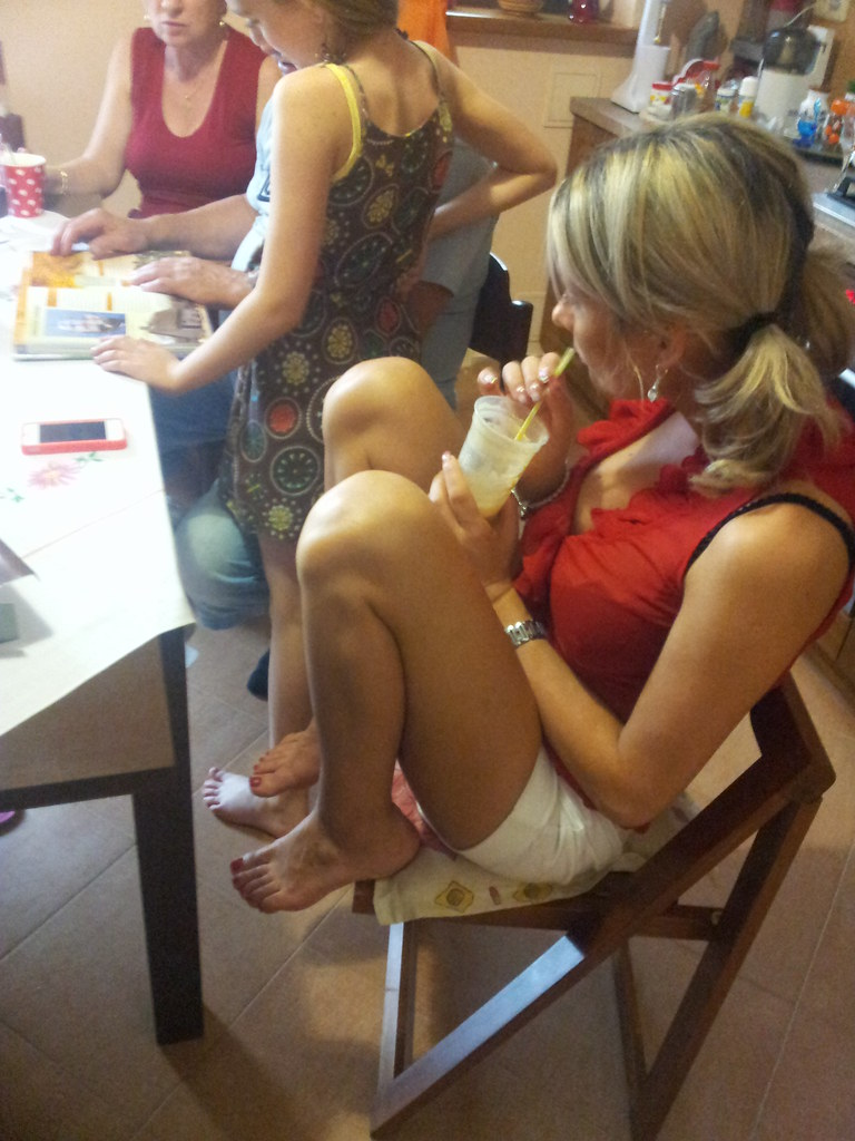 Candid Teen Feet Blonde Big 69