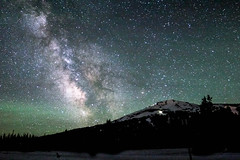 (Miles Bowers) Tags: mountains night oregon canon stars rebel long exposure bend or space solstice astrophotography threesisters astronomy miles cascade bowers galactic milkyway