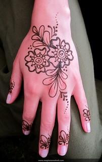 Floral fingers