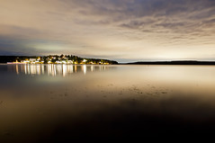 Lake Mlaren (Tusken91) Tags: old light sea lake night town king village sweden stockholm euro small north uppsala scandinavia 2012 mlaren sigtuna