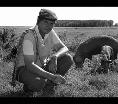 The Swineherd (Dushan B. Hadnadjev [slowly back]) Tags: world light portrait people man art love face hands village emotion time serbia documentary social soul balkans portret србија dushan душан dushanhadnadjev