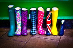 Colorful Boots - Woodhall Spa, Lincolnsire UK (ChrisGoldNY) Tags: uk greatbritain travel england green colors shoes colorful europa europe european colours forsale boots unitedkingdom britain eu lincolnshire viajes posters british colourful stores wellies vacations bookcovers albumcovers consumerist woodhallspa thechallengefactory chrisgoldny chrisgoldberg chrisgold chrisgoldphotos
