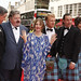 Craig Ferguson, Robbie Coltrane, Kelly MacDonald, Kevin McKidd, Mark Andrews and Katherin Sarafian on the red carpet for the European premiere of Brave at the Festival Theatre