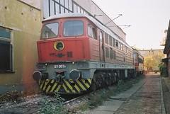 BDZ 07 007, Plovdiv depot, 25/10/04 (afc45014) Tags: 07 bdz 07007 plovdivdepot