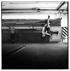 YouRock (difuZion) Tags: camera film sport square dance break air twist off hasselblad bboy vivitar ilford fp4 planar 511 sunpak airtwist